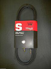 Stagg SAC3MPSPS 10 Ft. (3M) High Quality Audio Cable