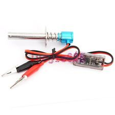 Glow Plug External Electronic Starter Igniter Ignition F RC Model Nitro Car Boat