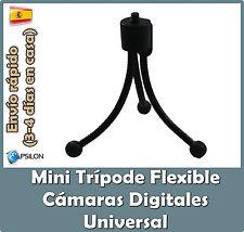 Mini Trípode Flexible para cámara digital Nikon Canon Casio Samsung