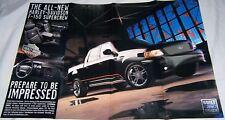 2001 01 Ford F150 Harley Davidson Poster sales brochure