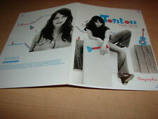 CORALIE CLEMENT - TOYSTORE!!!!!!!!!! BIOGRAPHIE PROMO!!