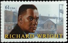 2009 61c Richard Wright, Literacy Scott 4386 Mint F/VF NH