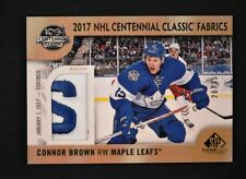 2017-18 UD SP Game Used 2017 NHL Centennial Classic Patch CC-CB Connor Brown /35