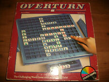 Overturn Vintage Word Game with a Twist Coleco 1989 Complete Free P+P
