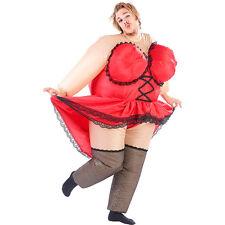 """Aufblasbares Kostüm: Selbstaufblasendes Kostüm """"Mollige Revue-Tänzerin"""""""