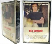 NEIL DIAMOND 1982  Heartlight Cassette Tape (NEW/Factory Sealed)- RARE!