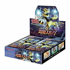 Pokemon Card Game SM7a Sun & Moon Thunderclap Spark Booster Pack Box Japan