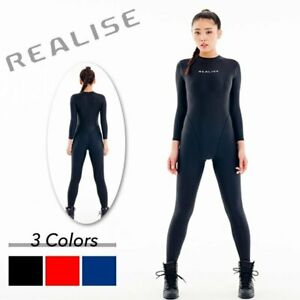 REALISE FB-1 2way Cat Suit Easy Stretch Black size M Made in Japan