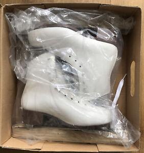 Graf Davos Gold Ice Skates Size 38 (UK 5)