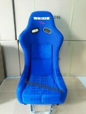 PAIR (2) BLUE BRIDE VIOS III 3 RACING SEAT BLUE FRP GRADATION CLOTH JDM