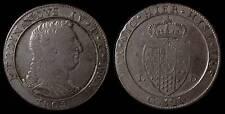 pci774) Napoli regno Ferdinando IV grana 120 piastra 1805 - UNCLEANED