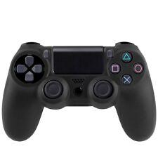 2 X Housse pour Sony PS4 - étui protection silicone - Anti choc/rayures - Noir