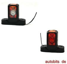 2 x LED 24V Begrenzungsleuchte Seitenmarkierungsleuchte Neu PKW LKW