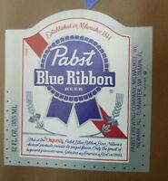 VINTAGE AMERICAN BEER LABEL - PABST BREWERY, BLUE RIBBON BEER 12 FL OZ #11