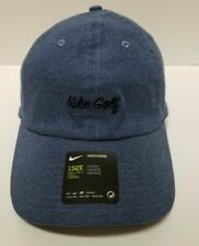 Nike Golf Cap Heritage86 Blue Denim Unisex NEW BV8228-492 SAMPLE