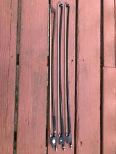 Used Lot of 3 Viola/Cello Bows, Glasser for Restoration