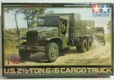 Tamiya  1/48 scale model kit U.S. 2 & 1/2 ton 6×6 cargo truck