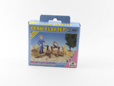 Farm Play Set === Holzhacken + Hund Tierfigur Tiere Bully Bullyland