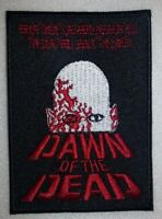 """Dawn of the Dead~Embroidered PATCH~3 1/2"""" x 2 1/2""""~Zombie~Iron On~Ships FREE"""