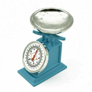 16*26*28mm Dollhouse Mini Scale Kitchen Market Furniture Kid Toy Decor Blue