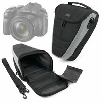 Durable Protective Black/Silver Nylon Camera Case For Canon EOS M5 Camera