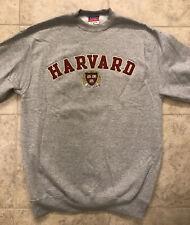 Champion Harvard University Embroidered Sweatshirt Ivy League Gray Size M