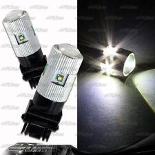 1x Pair White 12V 5LED 25W Cree LED 3156 LED Projector Parking Brake Light Bulbs