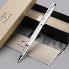 Perfect Parker IM Series Pear White Color Silver Clip 0.5mm Fine Rollerball Pen