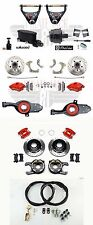 1965-68 Impala Disc Brake Kit Red Wilwood Front & Red Calipers Control Arms