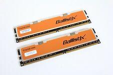 Crucial Ballistix BL12864AA804 2GB (2x1GB) DDR2 800MHz PC2-6400 Desktop Ram