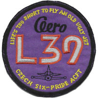 Aero L-39 Albatros Czech Six-Pride ACFT Patch Hook And Loop