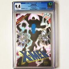 X-MEN # 54 CGC 9.4 PRISM FOIL 1996 w/COA Prismatic SPECIAL COLLECTOR'S EDITION