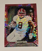 Josh Jacobs ROOKIE PINK PULSAR 2019 Prizm DP Raiders