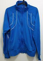 NIKE Track Jacket Sportswear - Blue - Women's Size XL Full Zip Retro Style