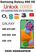 Samsung Galaxy A90 5G UNLOCK CODE ANY UK IRELAND NETWORK VODAFONE THREE O2 EE