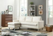 Canapés blanche moderne en cuir pour la maison