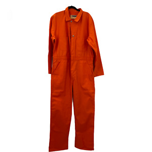 70s Work Wear Corporation Size 44 Cotton Overalls Boiler Suit USA Coveralls