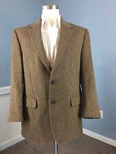 JOS A BANK Brown 100% Camel Hair Sport Coat Jacket Excellent 41 R