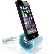 Ladestation für iPhone 5 Docking Station Design Ladegerät - blau