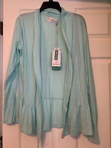 NWT Aventura Womens Mint Pullover Shawl Size XL