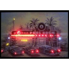 """8 Ball The Ball Pool Room Neon Sign Led Picture 36""""x24"""""""