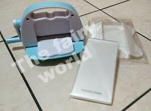 Fustellatrice Baby per carta, cartoncini, Gomma Eva, crepla, TNT + accessori.