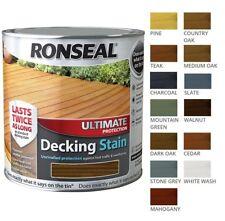 Ronseal Ultimate Protection Decking macchia-protezione di lunga durata