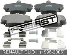 Pad Kit, Disc Brake, Front - Kit For Renault Clio Ii (1998-2005)