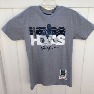 Mitchell And Ness Allen Iverson Georgetown Hoyas Gray T Shirt Mens Size Medium