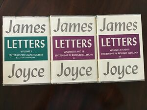 Letters of James Joyce Three-Volume Hardcover Box Set Viking Press 1966
