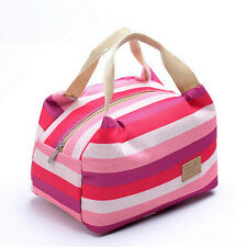 Brand New Picnic Insulated Food Storage Zipper Box Tote Bento Lunch Bag Pouch