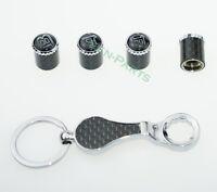 1SET Schlüsselbund Diebstahlschutz Reifen Stem Ventilkappen für Brabus