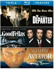 Martin Scorsese 3-Film (Goodfellas / The Aviator / The Departed) [Blu-ray] New!