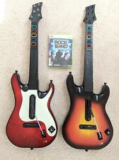 Xbox 360 Guitar Hero Wireless Red Octane 95457.805 & Band Hero 95905.805 Control